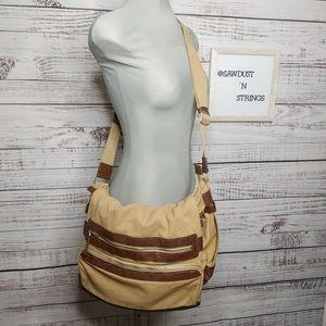 COPY - Ecco canvas messenger bag